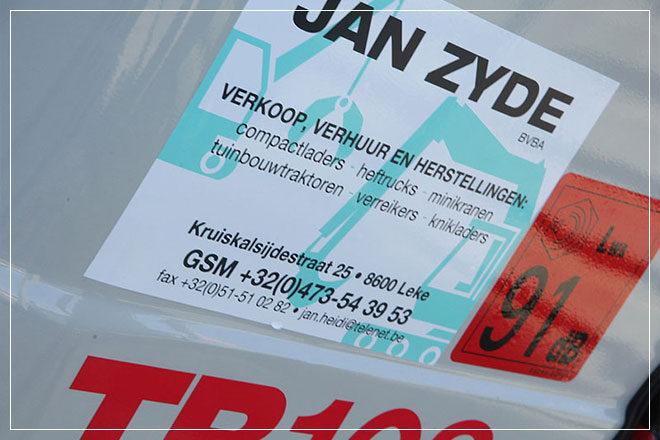 ontwerp responsive website met WordPress CMS voor bouwmachines Jan Zyde uit Diksmuide